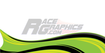 Wavex Green Vinyl Race Wrap