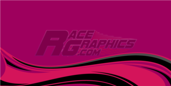 Wavex Pink Vinyl Race Wrap