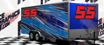 Race Trailer Graphics
