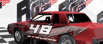 Bomber Race Car Graphics