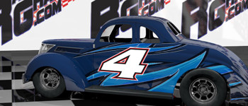 Legend Race Car Graphics